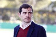 Iker Casillas, durante un acto este martes en Pozuelo.