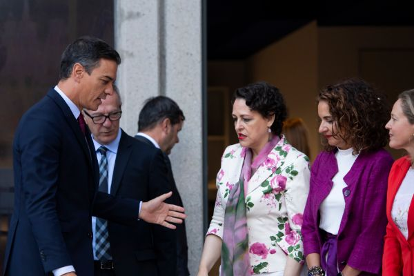 Bernardo Díaz. 05/09/2019. Madrid. España. Política. Desayuno...