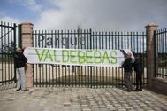 Protesta de los vecinos de Valdebebas.