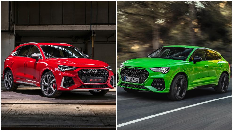 RS Q3 y RS Q3 Sportback: así son los todocaminos deportivos de Audi