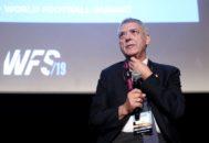 Villar reaparece en el World Football Summit de Madrid.