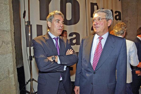 Antonio Fernández-Galiano y Alfonso de Salas, en 2005.