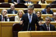 Ignacio Cosidó, en un pleno del Senado celebrado el pasado mes de febrero.