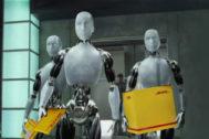 Yo,  (empleado)  robot