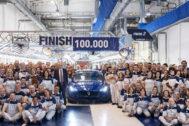 Hace unos días salió de la fábrica de Grugliasco el Maserati Ghibli número 100.000.