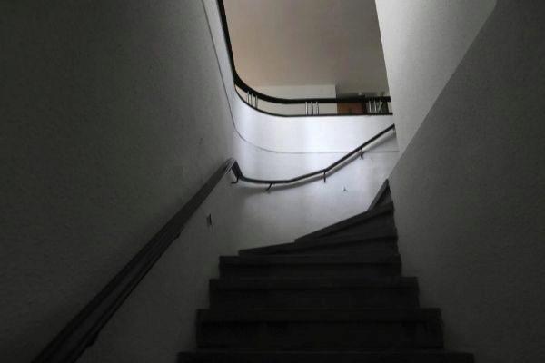 Las escaleras de la Casa Vilaró remiten también a la forma de un barco.