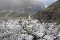 El glaciar Courmayeur, en el Mont Blanc.