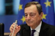 El presidente del BCE, Mario Draghi, en una imagen de archivo.
