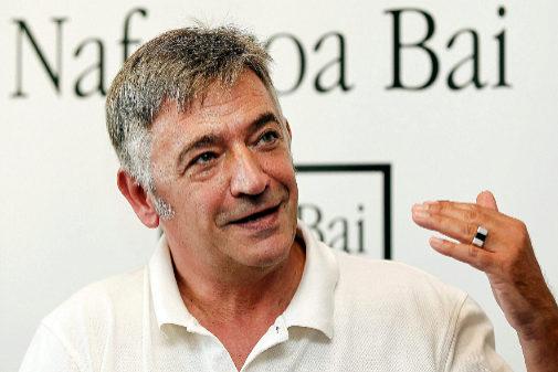 El parlamentario de Geroa Bai, Koldo Martínez, este septiembre.