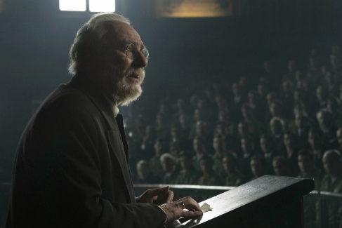 """El filme refleja el famoso discurso en el que Unamuno dijo """"Venceréis pero no convenceréis""""."""
