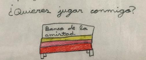 Extracto de la carta de una niña de Burgos a su colegio.