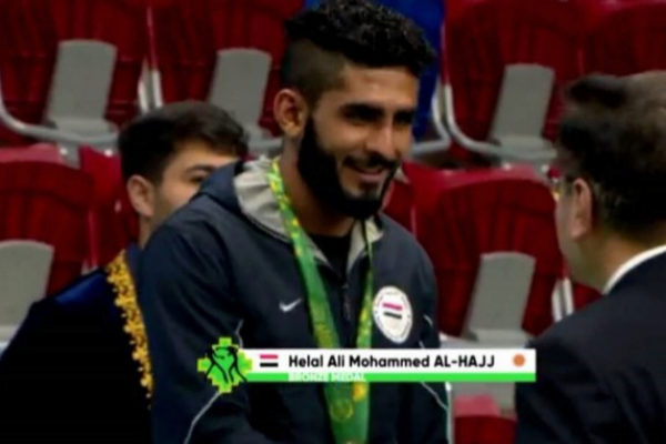 El medallista yemení Helal Alhaj, fallecido frente a la costa de...