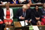 El premier británico Boris Johnson.