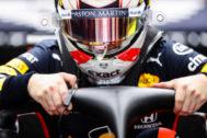 Max Verstappen, durante la sesión de libres de Sochi.