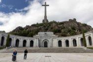 El valle de los caídos, tras sentencia del Tribunal Supremo que autoriza la exhumacion de los restos de Franco..