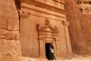 Tumbas nabateas de Mada'in Saleh, uno de los cinco lugares Patrimonio de la Humanidad de la UNESCO con los que cuenta Arabia Saudí.