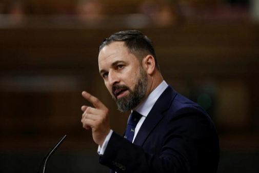 El líder de Vox, Santiago Abascal, el pasado julio en el Congreso.