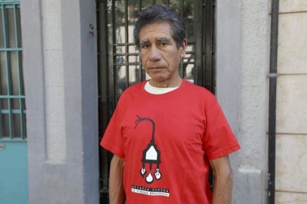 Alberto, un afectado por la pobreza energética.