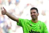 Buffon, tras la victoria de la Juventus ante el Spal.