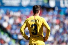 """Piqué ataca a la directiva: """"Sabemos qué medios son afines al club"""""""