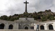 La cruz que preside el Valle de los Caídos, en San Lorenzo de El Escorial (Madrid).