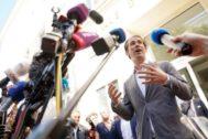 El ex canciller y líder del ÖVP, Sebastian Kurz.