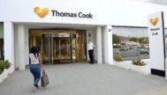 Sede palmesana del turoperador británico recientemente quebrado Thomas Cook.