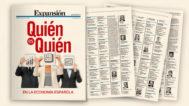 Hoy con Expansión, el 'Quién es quién' en la economía española