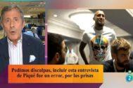 RTVE pide disculpas por la pieza sobre Piqué