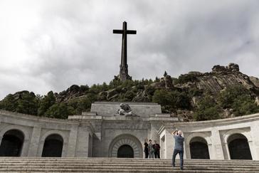 La Basílica del Valle de los Caídos, donde están enterrados los restos de Franco.