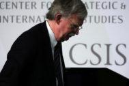 El ex consejero de Seguridad Nacional de EEUU John Bolton.