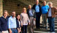 Miembros de Plis tras una asamblea celebrada el año pasado.