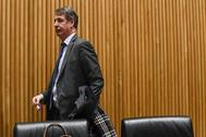 El presidente de la Sepi, Vicente Fernández, en la comisión de Industria del Congreso de los Diputados.