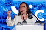 Rebeca Grynspan, secretaria general iberoamericana, en el encuentro de Ceapi.
