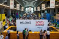 Asistentes al 'marketplace' del South Summit durante la pasada edición.