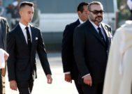 El rey Mohamed VI junto a su hijo Mulay Hasán