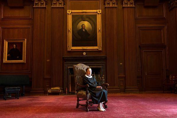 Ruth Bader Ginsburg, de la Corte suprema de Justicia.
