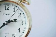En octubre llega el cambio de hora