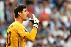 Courtois encaja un 60% más de goles en el Real  Madrid que en el Atlético