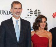 Felipe VI y Doña Letizia en el 30 aniversario de EL MUNDO