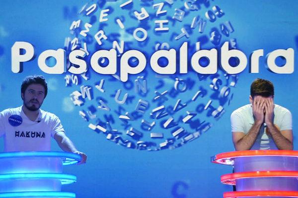 Dos concursantes de Pasapalabra.