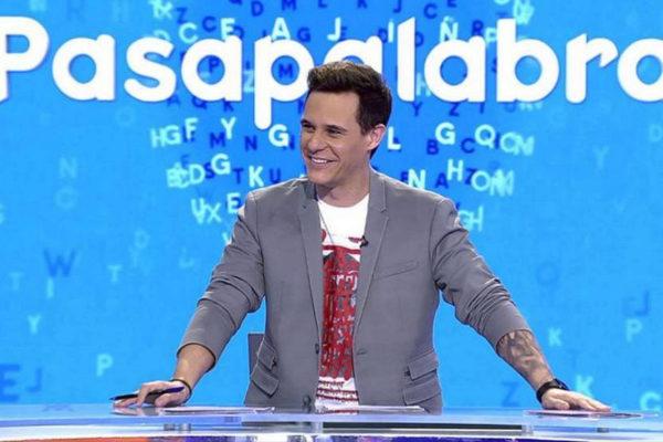 Christian Gálvez presenta Pasapalabra