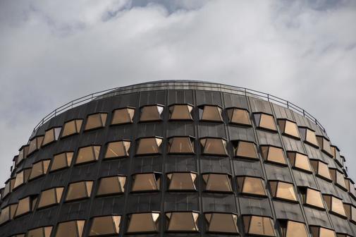 La sede del Tribunal Constitucional, en Madrid.