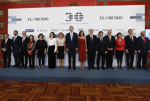 """El Rey: """"EL MUNDO es una institución en defensa de la democracia"""""""