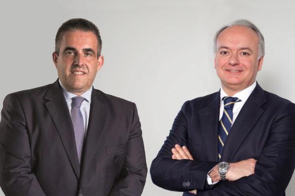 Víctor del Pozo, consejero delegado de El Corte Inglés, y Javier...