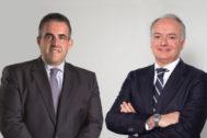 Víctor del Pozo, consejero delegado de El Corte Inglés, y Javier Catena, responsable de la nueva unidad de negocio inmobiliario.