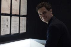 Gálvez, en la reciente exposición 'Leonardo da Vinci. Los rostros del genio', de la que fue comisario.