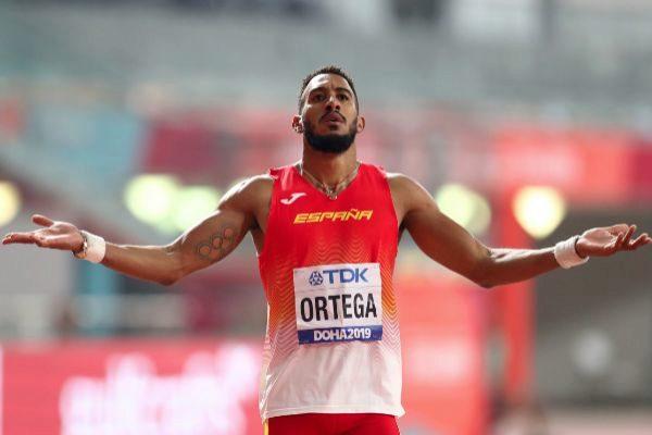 Ortega, tras la carrera.