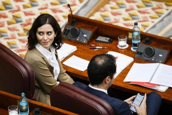 La presidenta de la Comunidad de Madrid.