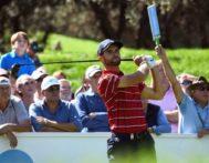 *CORRIGE APELLIDO* GRAF3822. MADRID.- El golfista español Adri <HIT>Arnaus</HIT>, durante su participación este Jueves en el Open de España de Golf, que se disputa desde hoy hasta el 6 de octubre en el Club de Campo Villa de Madrid.